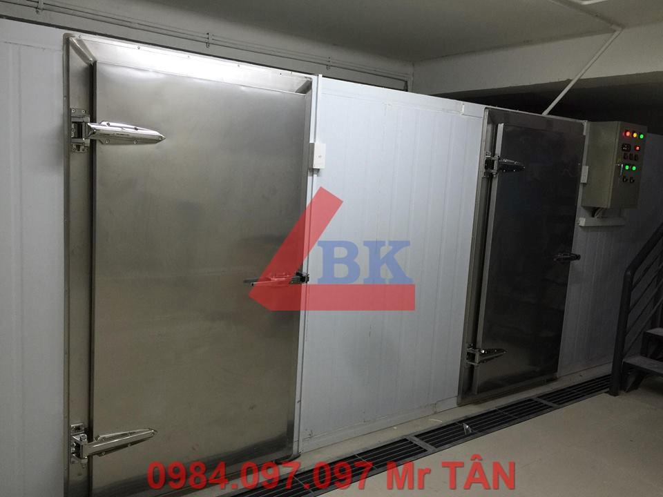 Công trình lắp đặt kho lạnh resort Vịnh Đá Nhảy Lagi Bình Thuận