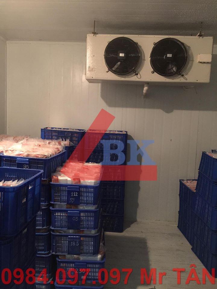 Lắp đặt kho lạnh cá sấu đà điểu nha trang tổng công ty Khánh Việt Khatoco