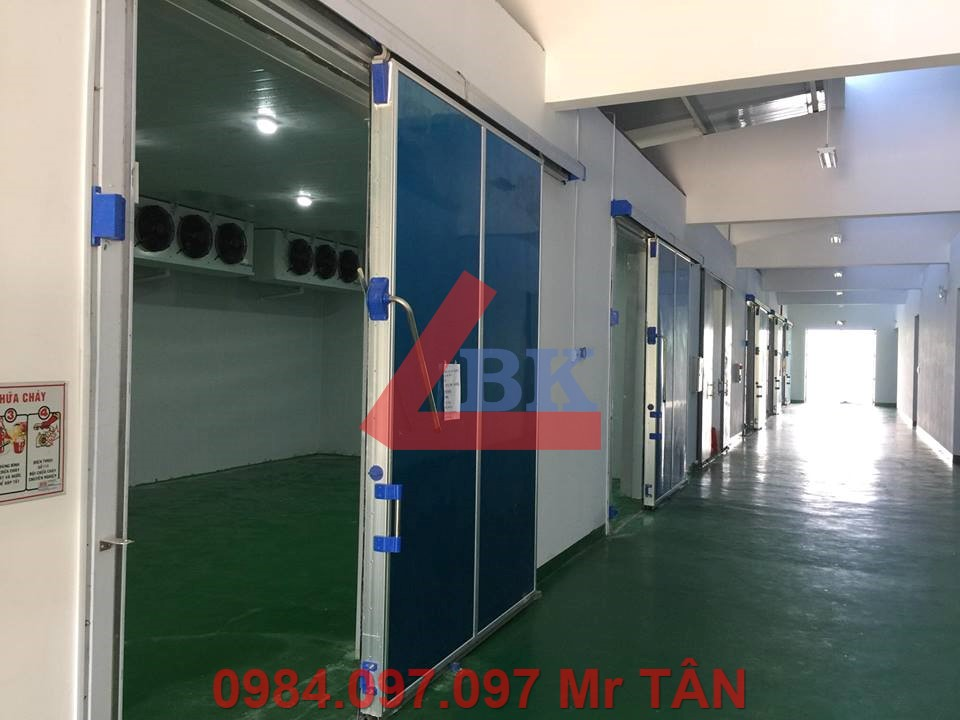 Lắp đặt kho lạnh trữ ớt Tập đoàn CJ Hàn Quốc Phan Rang Ninh Thuận